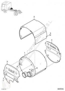 Reservdelar lastbilar DAF Pot d'échappement SILENCIADOR Serie XF105.XXX Fg 4x2 [12,9 Ltr. - 340 kW Diese pour camion Serie XF105.XXX Fg 4x2 [12,9 Ltr. - 340 kW Diesel] begagnad