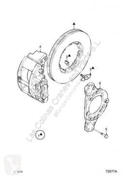 制动卡钳 达夫 Étrier de frein Fuelle Pinza Freno Eje Trasero Izquierdo Serie XF105.XXX Fg pour tracteur routier Serie XF105.XXX Fg 4x2 [12,9 Ltr. - 340 kW Diesel]