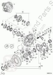Pièces détachées PL DAF Différentiel Grupo Diferencial Completo Serie XF105.XXX Fg 4x2 [12,9 Ltr. pour tracteur routier Serie XF105.XXX Fg 4x2 [12,9 Ltr. - 340 kW Diesel] occasion