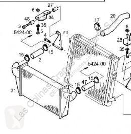 Iveco kühlsystem Eurocargo Radiateur de refroidissement du moteur Radiador Chasis (Typ 75 E 15) [5,9 Ltr. - 10 pour camion Chasis (Typ 75 E 15) [5,9 Ltr. - 105 kW Diesel]