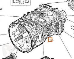 Cutie de viteze Iveco Eurotech Boîte de vitesses Caja Cambios Manual (MP) FSA (40 pour camion (MP) FSA (400 E 34 ) [9,5 Ltr. - 254 kW Diesel]