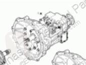 Iveco gearbox Eurocargo Boîte de vitesses Caja Cambios Manual tector Chasis (Modelo 80 pour camion tector Chasis (Modelo 80 EL 17) [3,9 Ltr. - 125 kW Diesel]