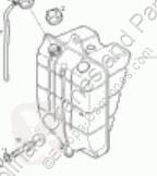 Расширительные бачки Iveco Eurocargo Réservoir d'expansion Deposito Expansion tector Chasis (Modelo 80 pour camion tector Chasis (Modelo 80 EL 17) [3,9 Ltr. - 125 kW Diesel]
