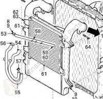 Climatisation DAF Radiateur de climatisation Condensador XF 105 FAS 105.460, FAR 105.460, FAN 105.460 pour camion XF 105 FAS 105.460, FAR 105.460, FAN 105.460