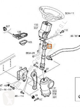 Pièces détachées PL Iveco Stralis Autre pièce détachée de transmission Columna Direccion AS 440S54 pour camion AS 440S54 occasion