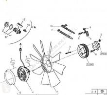 Peças pesados sistema de arrefecimento ventoinha Renault Premium Ventilateur de refroidissement Ventilador Viscoso 2 Lander 440.18 pour tracteur routier 2 Lander 440.18