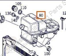 Vrachtwagenonderdelen Amortisseur de capot Deposito Expansion Mercedes-Benz ACTROS 2535 L pour camion MERCEDES-BENZ ACTROS 2535 L tweedehands