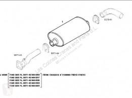 Reservedele til lastbil Iveco Eurocargo Pot d'échappement SILENCIADOR Chasis (Typ 150 E 23) [5,9 Ltr. pour camion Chasis (Typ 150 E 23) [5,9 Ltr. - 167 kW Diesel] brugt
