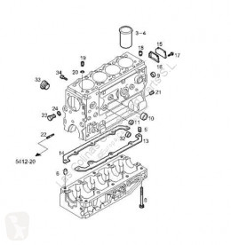 Bloc moteur Iveco Daily Bloc-moteur Bloque II 35 S 11,35 C 11 pour camion II 35 S 11,35 C 11