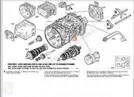 Iveco sebességváltó Eurotech Boîte de vitesses Caja Cambios Manual (MP) FSA (44 pour tracteur routier (MP) FSA (440 E 38) [9,5 Ltr. - 276 kW Diesel]