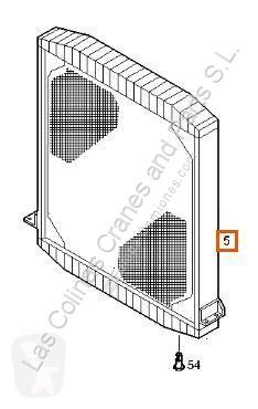 Repuestos para camiones Iveco Eurostar Radiateur de refroidissement du moteur Radiador (LD) LD440E46T pour tracteur routier (LD) LD440E46T usado