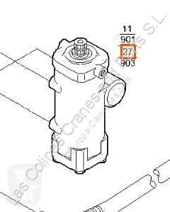 Iveco Eurocargo Direction assistée Caja Direccion Asistida tector Chasis (Model pour camion tector Chasis (Modelo 100 E 18) [5,9 Ltr. - 134 kW Diesel] direction begagnad