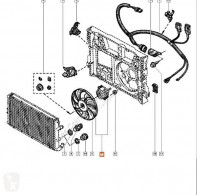 Części zamienne do pojazdów ciężarowych Renault Ventilateur de refroidissement Ventilador Radiador Aire Acondicionado MASTER II Caja/Ch pour camion MASTER II Caja/Chasis (ED/HD/UD) 2.2 dCI 90 używana