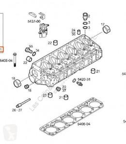 Repuestos para camiones Iveco Eurostar Culasse Culata (LD) FSA (LD 440 E 43 4 pour camion (LD) FSA (LD 440 E 43 4X2) [10,3 Ltr. - 316 kW Diesel] motor culata usado