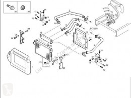Refroidissement Iveco Daily Radiateur de refroidissement du moteur Radiador II 50 C 15 pour camion II 50 C 15