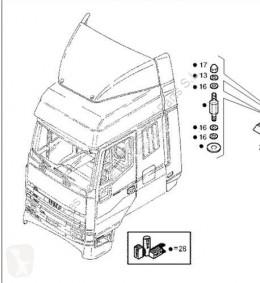 Iveco Eurotech Aileron Spoiler Techo Solar (MP) FSA (44 pour camion (MP) FSA (440 E 38) [9,5 Ltr. - 276 kW Diesel] truck part used