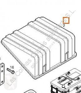 Repuestos para camiones Iveco Eurocargo Boîtier de batterie Tapa Baterias tector Chasis (Modelo 100 E 18 pour camion tector Chasis (Modelo 100 E 18) [5,9 Ltr. - 134 kW Diesel] usado