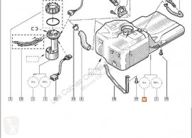 Bränsletank Renault Réservoir de carburant Deposito Combustible MASTER II Caja/Chasis (ED/HD/UD) 2. pour camion MASTER II Caja/Chasis (ED/HD/UD) 2.2 dCI 90