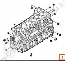 Pièces détachées PL Iveco Eurostar Bloc-moteur Bloque (LD) FSA (LD 440 E 43 4 pour tracteur routier (LD) FSA (LD 440 E 43 4X2) [10,3 Ltr. - 316 kW Diesel] occasion