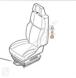 Repuestos para camiones cabina / Carrocería equipamiento interior asiento Iveco Eurotech Siège Asiento Delantero Derecho (MP) MP 19 pour tracteur routier (MP) MP 190 E 34