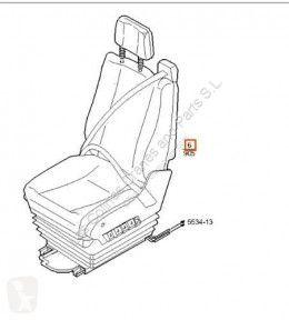 Iveco fülke / karosszéria Eurocargo Siège Asiento Delantero Izquierdo tector Chasis (M pour camion tector Chasis (Modelo 100 E 18) [5,9 Ltr. - 134 kW Diesel]