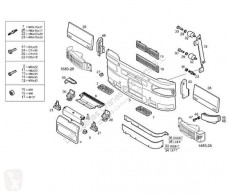 Repuestos para camiones cabina / Carrocería piezas de carrocería parachoques Iveco Eurotech Pare-chocs Paragolpes Delantero (MP) MP 190 E 3 pour (MP) MP 190 E 34