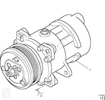 Części zamienne do pojazdów ciężarowych Renault Premium Compresseur de climatisation Compresor Aire Acond 2 Route 380.18 pour tracteur routier 2 Route 380.18 używana