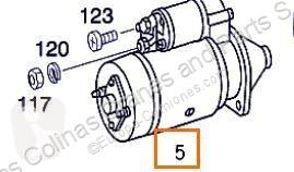 Rozrusznik Démarreur Motor Arranque Mercedes-Benz CLASE G (W461) 290 GD/G 290 D (461. pour camion MERCEDES-BENZ CLASE G (W461) 290 GD/G 290 D (461.337, 461.338)