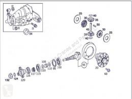 Differentiale / dæk / bagaksel Différentiel Grupo Diferencial Trasero Mercedes-Benz Clase S Berlina (BM 220) pour automobile MERCEDES-BENZ Clase S Berlina (BM 220)(1998->) 3.2 320 CDI (220.026) [3,2 Ltr. - 145 kW CDI CAT]