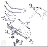 Moteur Motor Limpiaparabrisas Delantero Mercedes-Benz Clase S Berlina ( pour camion MERCEDES-BENZ Clase S Berlina (BM 220)(1998->) 3.2 320 CDI (220.026) [3,2 Ltr. - 145 kW CDI CAT] moteur occasion
