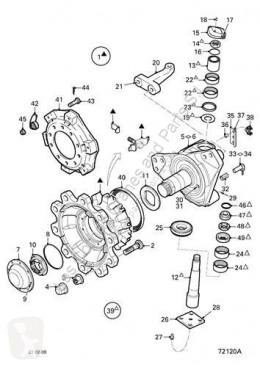Peças pesados suspensão suspensão das rodas manga de eixo DAF Moyeu Buje Serie LF55.XXX desde 06 Fg 4x2 [6,7 Ltr. - 184 kW Diese pour camion Serie LF55.XXX desde 06 Fg 4x2 [6,7 Ltr. - 184 kW Diesel]