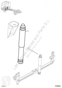 Repuestos para camiones suspensión amortiguador DAF Amortisseur Amortiguador Eje Delantero Izquierdo Ballesta Serie LF55.XXX pour camion Serie LF55.XXX desde 06 Fg 4x2 [6,7 Ltr. - 184 kW Diesel]