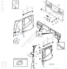 Peças pesados Volvo Revêtement a-steun bekleding pour tracteur routier FH4 neuf novo
