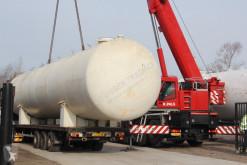 - Gas, Gaz, LPG, GPL, Propane, Butane tank - on flatbed trailer ID 1.164 Cisternă, cuvă, remorcă-cisternă pentru apă second-hand