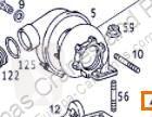 Pièces détachées PL Turbocompresseur de moteur pour camion MERCEDES-BENZ ACTROS 1843 S,1843 LS occasion