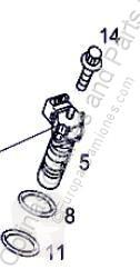 Pompa wtryskowa Pompe d'injection pour tracteur routier MERCEDES-BENZ ACTROS 1843 S,1843 LS