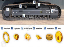 Recambios maquinaria OP Caterpillar 330D tren de rodamiento nuevo