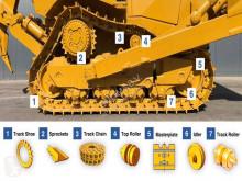 Recambios maquinaria OP Caterpillar D6N tren de rodamiento nuevo