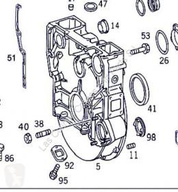 Ağır Vasıta yedek parça OM Embrayage pour camion MERCEDES-BENZ Actros 4-Ejes 6-Cil. Serie/BM 4143 (8X8/4) 501 LA [12,0 Ltr. - 315 kW V6 Diesel ( 501 LA)] ikinci el araç