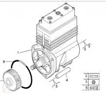 Renault Premium Compresseur pneumatique Depresor De Aceite pour camion Distribution 420.18 roue / pneu occasion