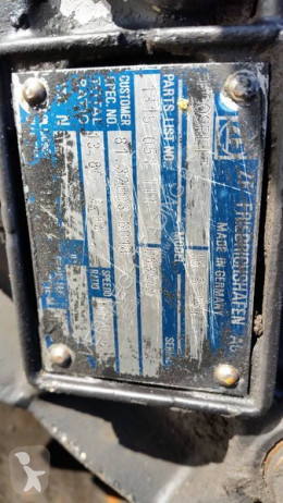 Voir les photos Pièces détachées PL ZF 16S151