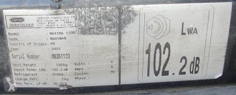 Vedere le foto Ricambio per autocarri Carrier GROUPE FRIGORIFIQUE MAXIMA 1200