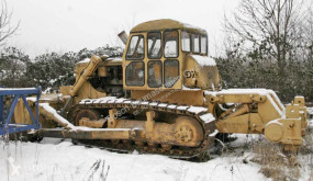 Bulldozer Caterpillar D7 tweedehands