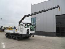 Tombereau sur chenilles Bergmann 4010 T with Hiab Load Crane