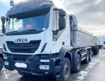 камион nc Trakker AT410T50 8x4 Trakker AT410T50 8x4, Intarder, Stahlmulde ca. 18m³, hydr. Heckklappe