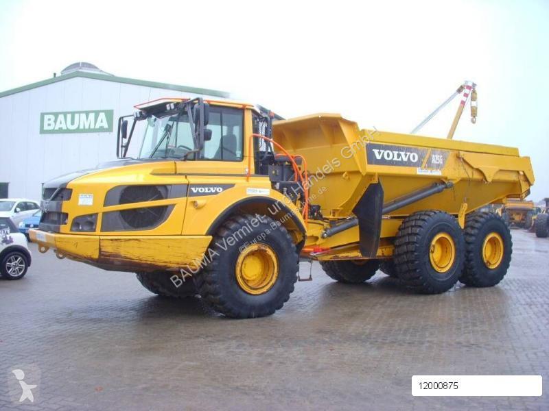 Bekijk foto's Dumper Volvo A 25 G (12000875) MIETE RENTAL