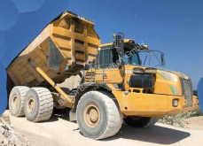 Bell B50 D used articulated dumper