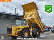 Fast dumper Komatsu HD405-6 Good tyres - German rigid truck
