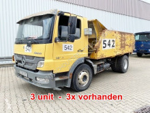 Lastbil lastvagn bygg-anläggning Mercedes Atego 1623 L 4x2 Atego 1623 L 4x2, Abschiebeaufbau, 3x Vorhanden!