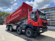 شاحنة Iveco Trakker Trakker AD340T 450 8x4 Meiller hydr. Heckklappe حاوية مستعمل